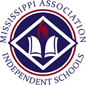 mississippi association of independent schools logo